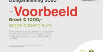 Obligatie lening, je helpt de bouw van de Nije hoeve en het kost je niets